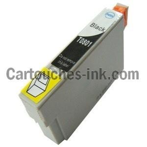 cartouches compatibles Epson T0801, T0802, T0803, T0804, T0805, T0806, lot T0807