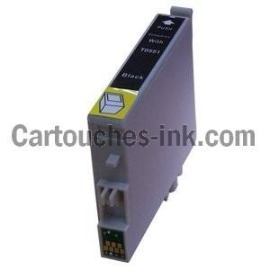 cartouches compatibles Epson T0551, T0552, T0553, T0554, lot T0556