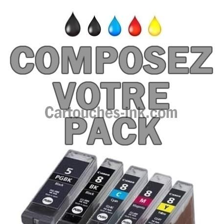 Cartouches compatibles Canon PGI-5 CLI-8