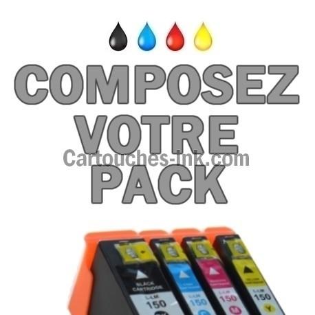Cartouches compatibles Lexmark 150XL / 155XL