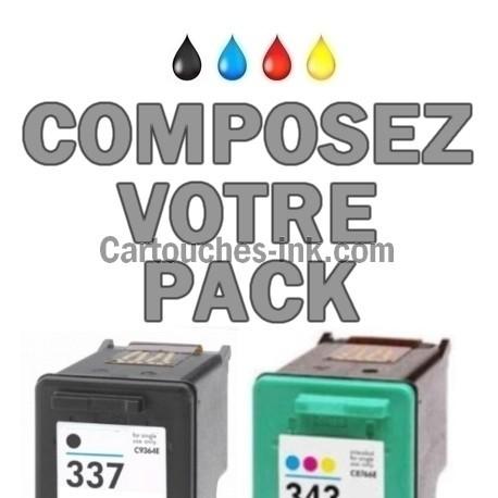 Cartouches compatibles HP337 et HP343